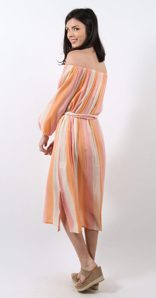 Amabella Dress Seaside Stripe