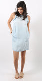 Ruffle Dress Ombre Sun Bleach