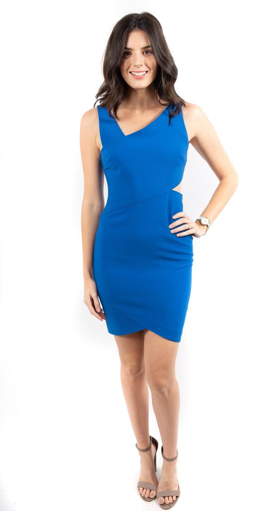 Skylar Dress Olympian Blue