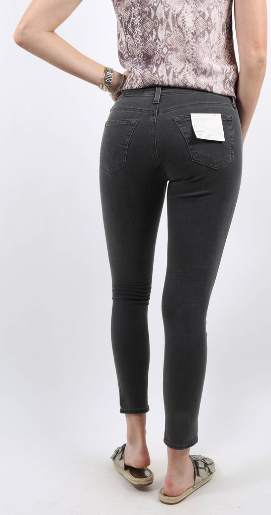 Legging Ankle Faded Black Raw Hem 5 years Reckless