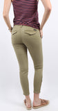 Fast Track Zip Chino Prosperity Green
