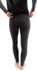 Yoga Pant with Trim Charcoal