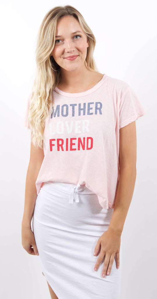 Vintage Tee Mother Lover Petal