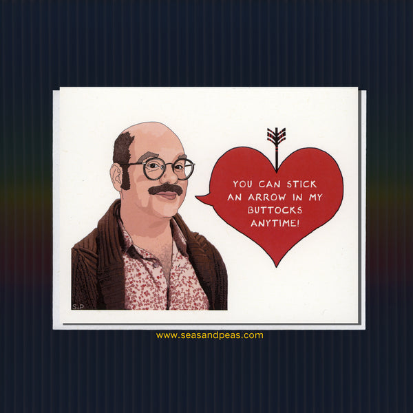 """Arrested Development"" Tobias Love Card - Seas and Peas"