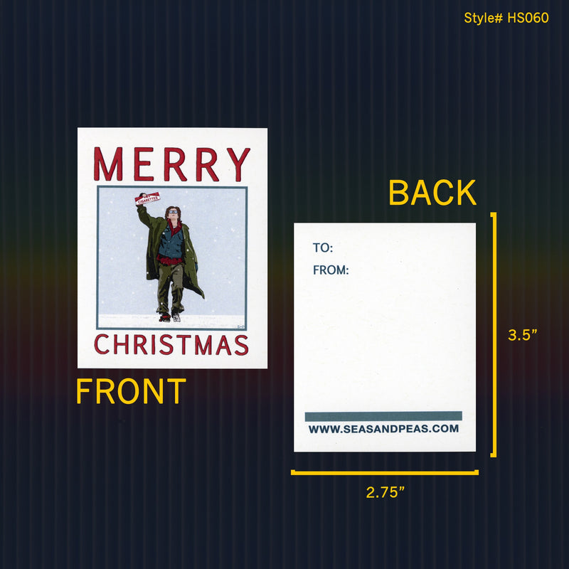 """The Breakfast Club"" Mini Flat Christmas Notecard Set"
