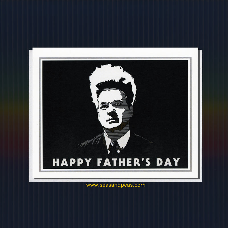 Eraserhead Father's Day Card - Seas and Peas