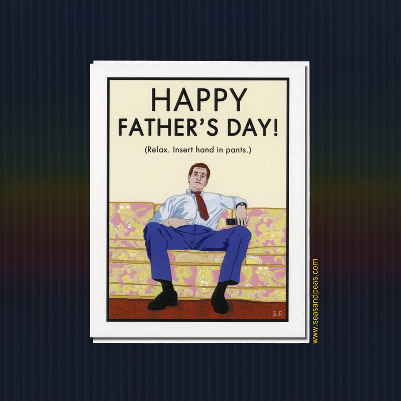 """Married with Children"" Father's Day Card - Seas and Peas"