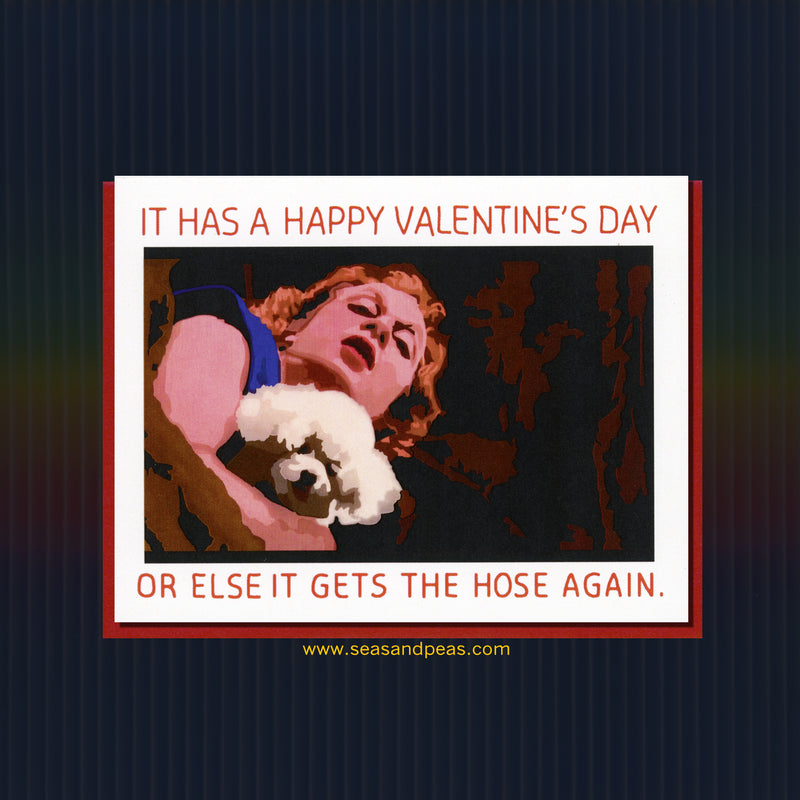 """Silence of the Lambs"" Valentine Card - Seas and Peas"
