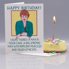 "Blanche ""Golden Girls"" Birthday Card"