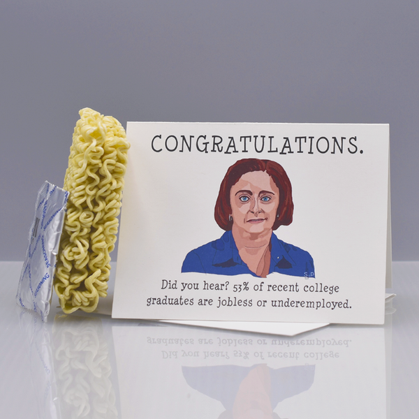 "Debbie Downer ""SNL"" Graduation Card"
