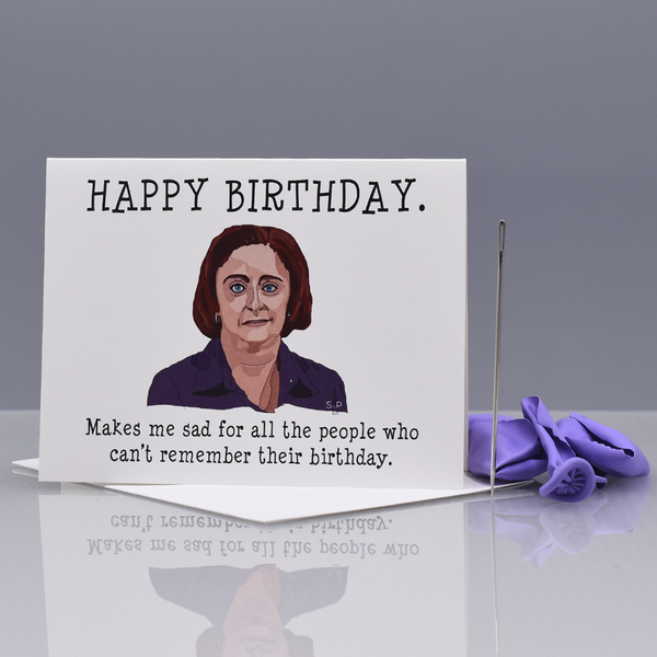 "Debbie Downer ""SNL""  Birthday Card"