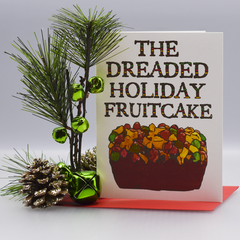 The Dreaded Fruitcake Holiday Card