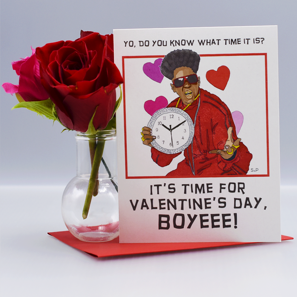 Flavor flav flavor of love valentines day card seas and peas show you know what time it is with this sassy valentines day card featuring flavor flav the recipient will surely be feelin some kind of way kristyandbryce Image collections
