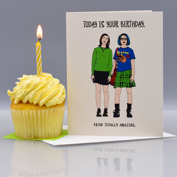 "Totally Amazing ""Ghost World"" Birthday Card"