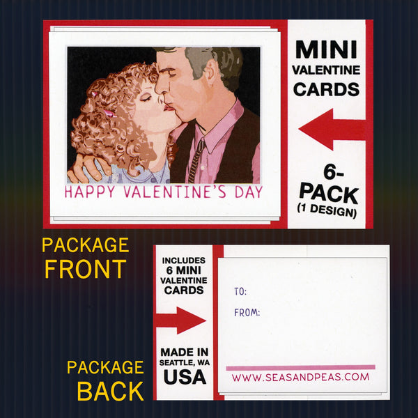 """The Jerk"" Mini Flat Valentine Notecard Set"