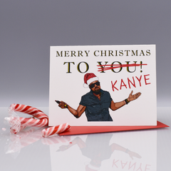 Kanye Jacks Your Christmas Card