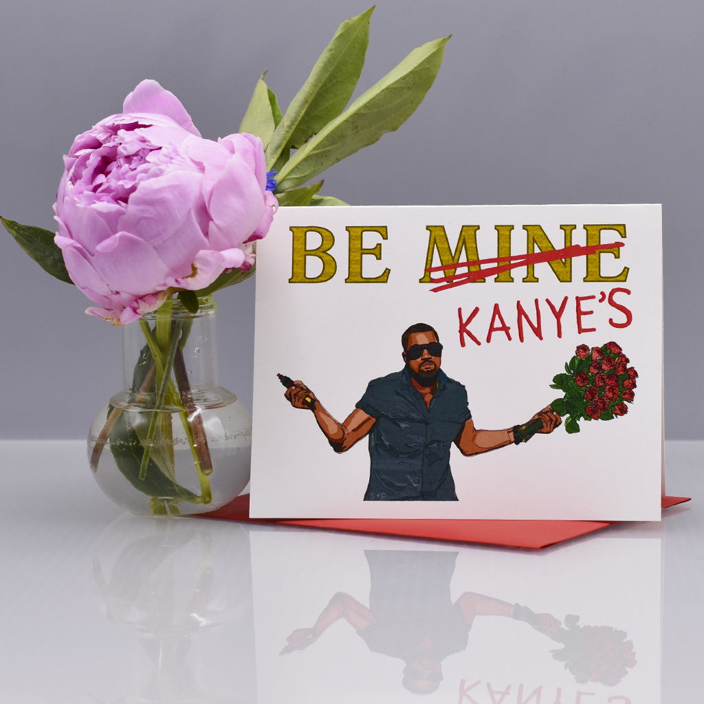 Kanye Jacks Your Valentine's Day Card