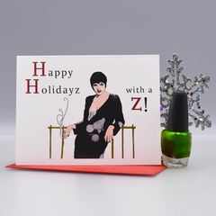 """Liza with a Z"" Holiday Card"