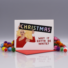 "RuPaul ""RuPaul's Drag Race"" Christmas Card"