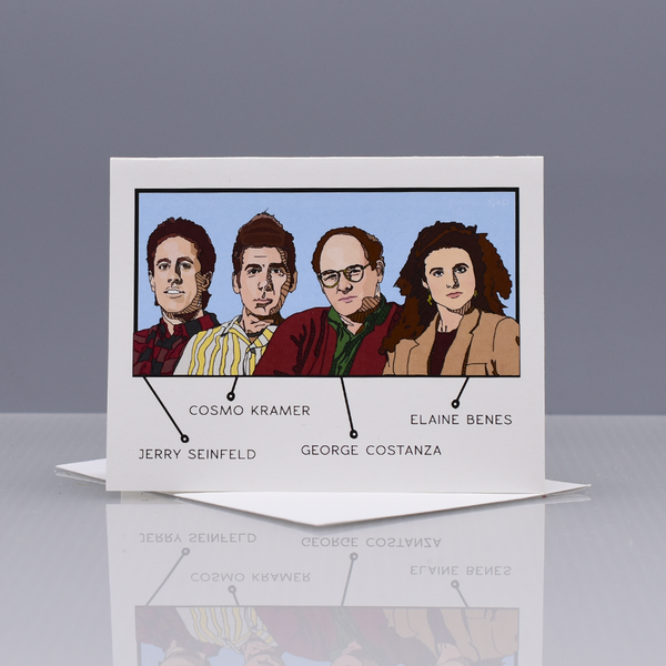 """Seinfeld"" Field Guide Greeting Card"