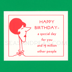 A Special Birthday Card