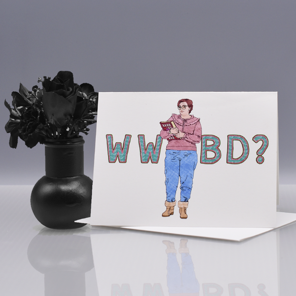 "What Would Barb Do? ""Stranger Things"" Greeting Card"
