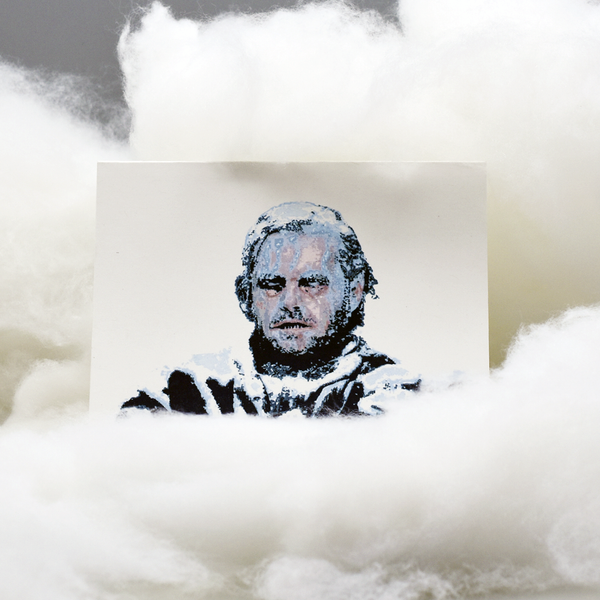"Frozen Jack Nicholson ""The Shining"" Pop Culture Card"