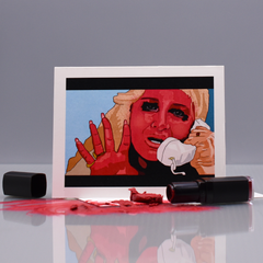 "Lipstick Crazy ""Wild At Heart"" Pop Culture Card"