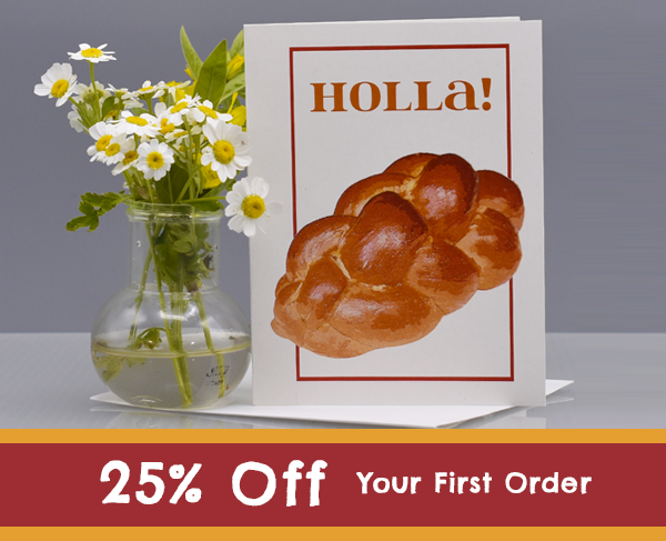 Holla! bread card