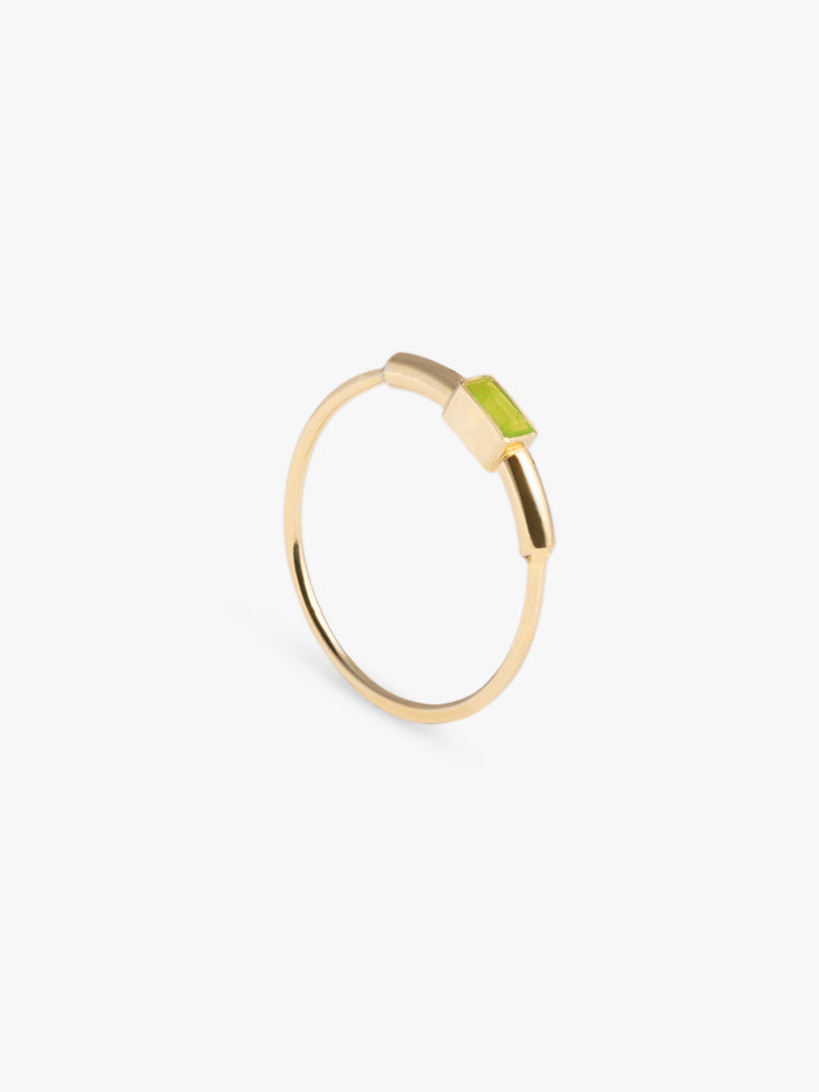 Ring Sprint Peridot 14kt Solid Gold
