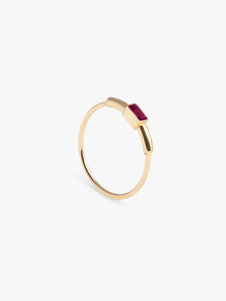 Ring Sprint Ruby 14kt Solid Gold