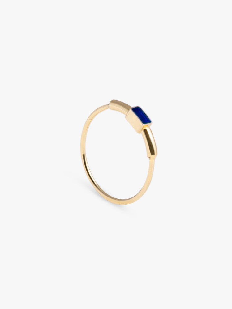 Ring Sprint Sapphire 14kt Solid Gold