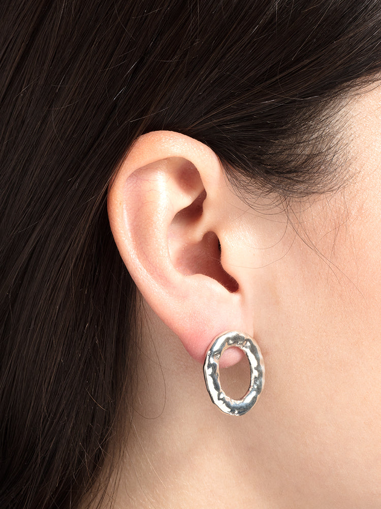 Earring Verge Round