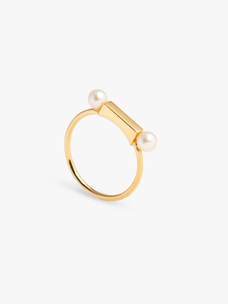 Ring Frontier Pearl 14kt Solid Gold
