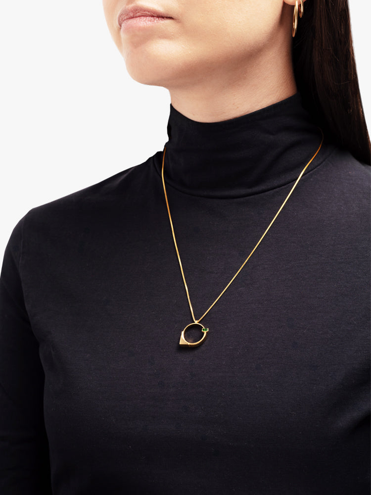 Necklace Refined Brutalism Gold / 55 cm
