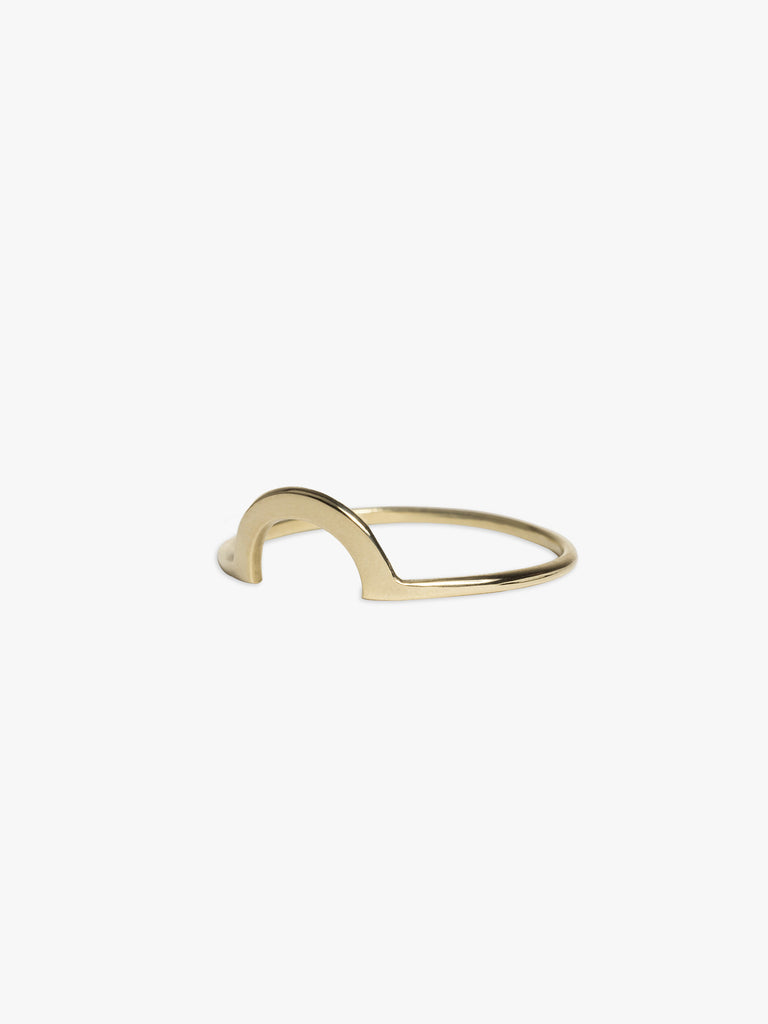 Ring Mount 14kt Solid Gold