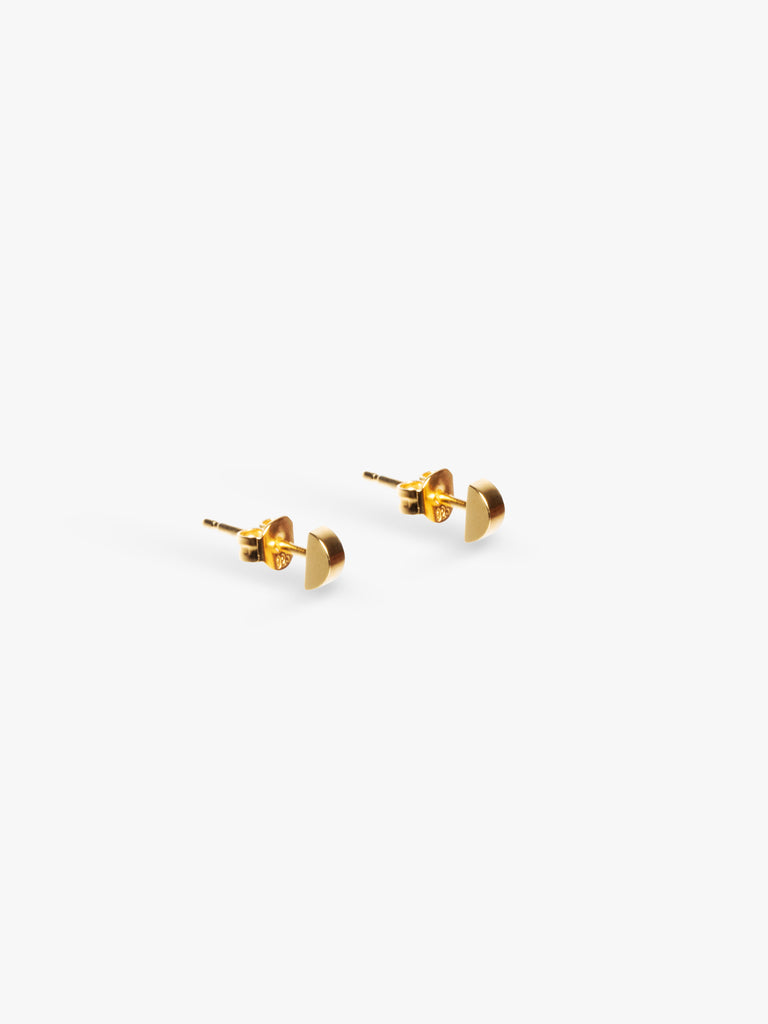 Earring Bit Nail 14kt Solid Gold