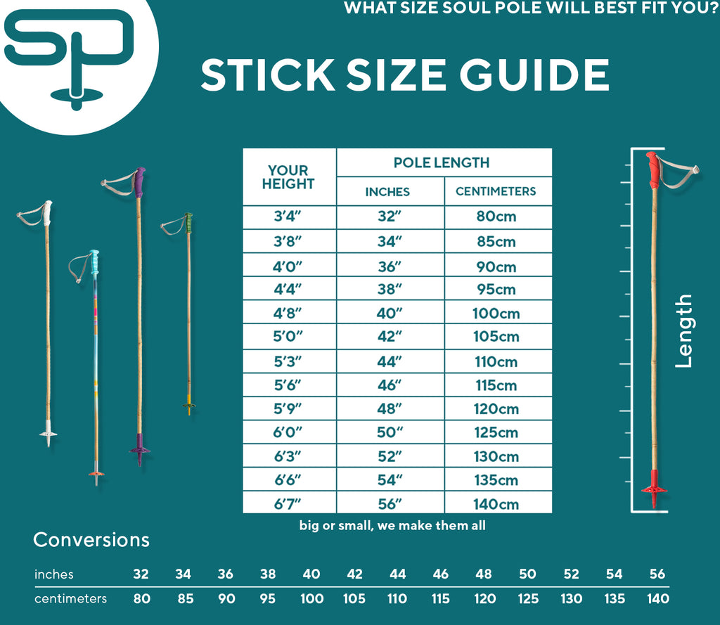soul poles ski pole size guide what size ski poles do i need