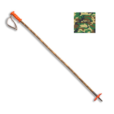 Bamboo Ski Poles - Bamboo Ski Poles :: The Powder Hunter (camo)