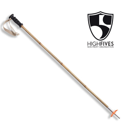 Bamboo Ski Poles - Ski Poles :: High Fives Edition