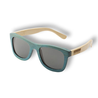 Bamboo Sunglasses - Blue