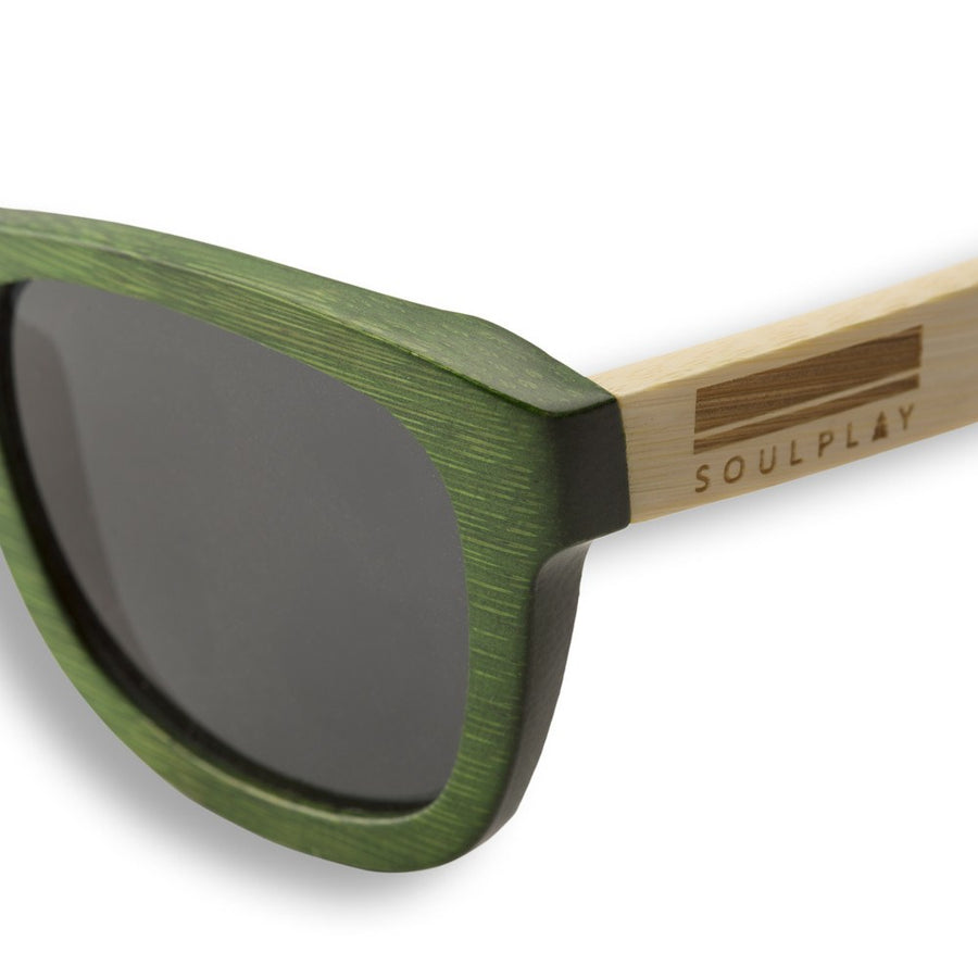Bamboo Sunglasses - Grass Green
