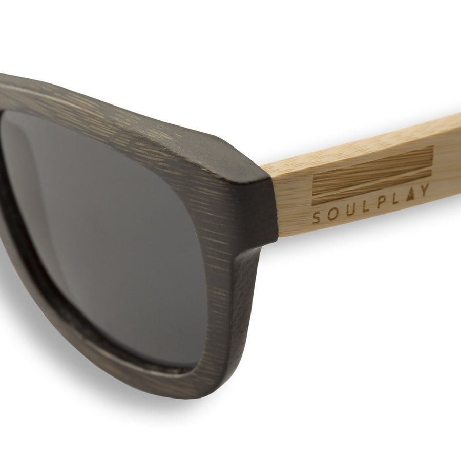 Bamboo Sunglasses - Smoke