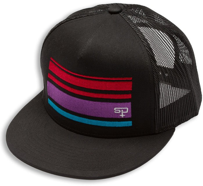 Hats - Sp Retro Stripe Snapback
