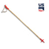 bamboo ski poles :: us ski team edition