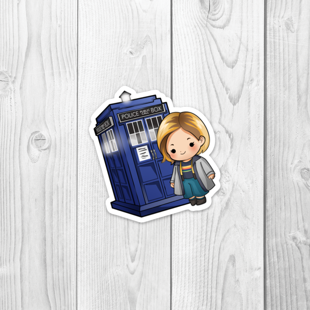 13th Doctor Vinyl Decal