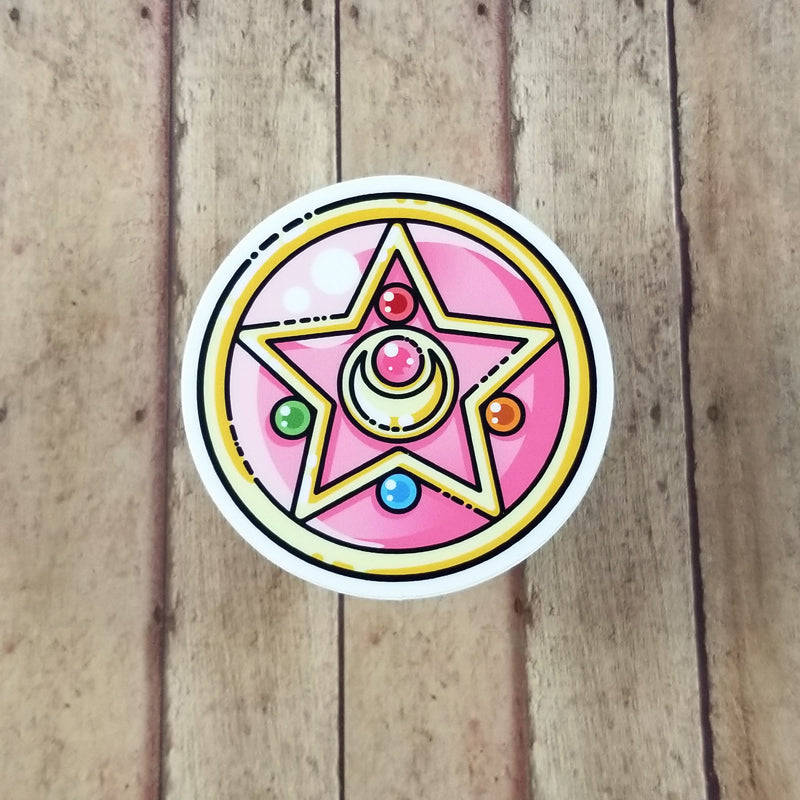 Sailor Moon Cyrstal Star Vinyl Decal