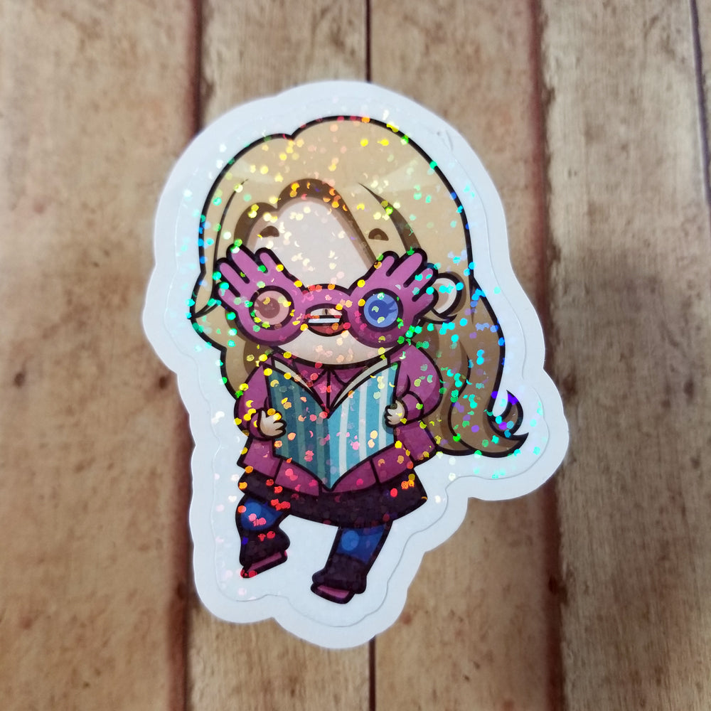 3in Holo Diecut Sticker