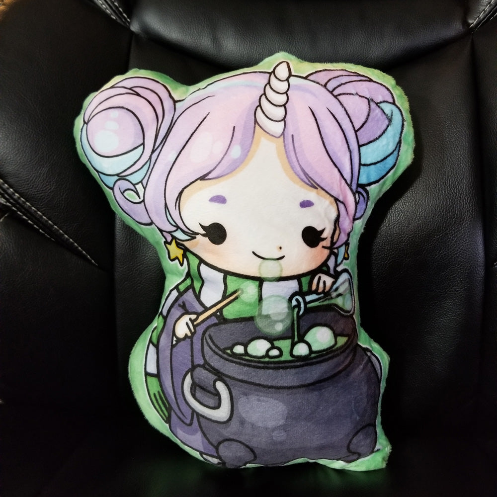 Starshine GREEN Magic School Accessory Pillow