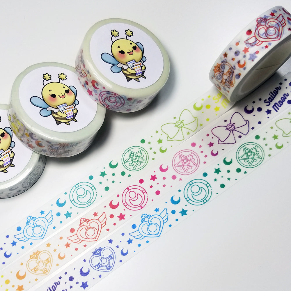Sailor Moon Rainbow Washi Tape